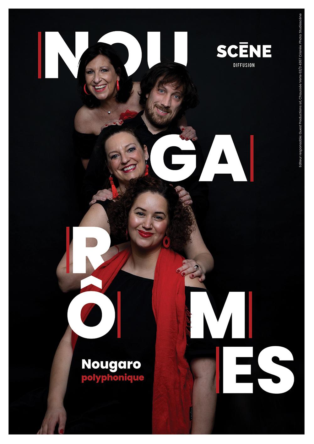 Nougarômes, spectacle d'un groupe liégeois qui revisite les classiques de Claude Nougaro